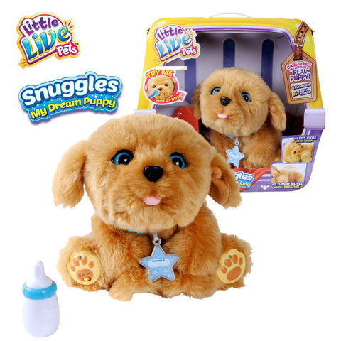 Little Live Pets Snuggles My Dream Puppy Interactive Plush