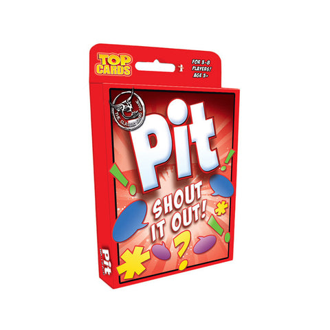 PIT Shout It Out Card Game