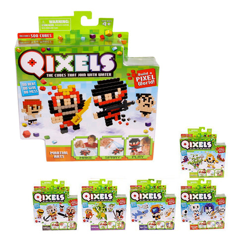 Qixels Theme Refill Pack Assorted