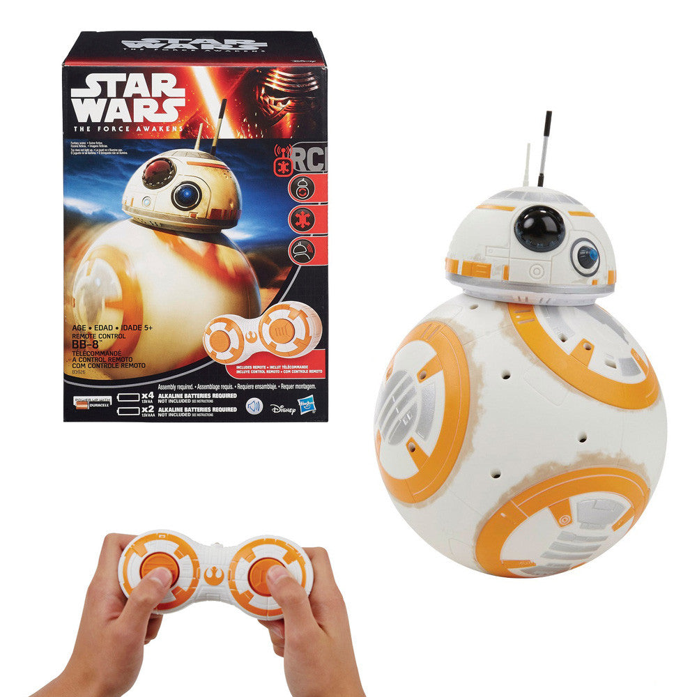 star wars vii the force awakens remote control rc droid bb 8