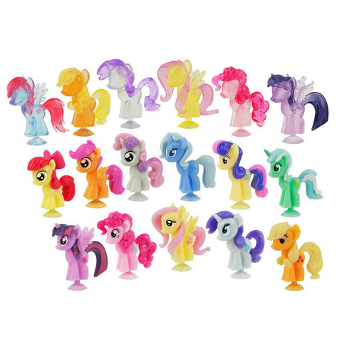 3 x Squishy Pops My Little Pony Capsule Blind Bag