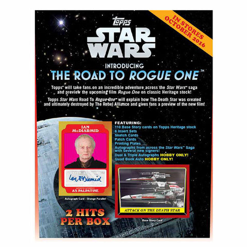 Star Wars Topps – The Road To Rogue One Hobby Collection (24 Packs in CDU)
