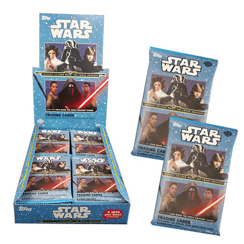 Star Wars Topps Journey to Star Wars TCG Force Awakens Collection Booster (24 Packs)
