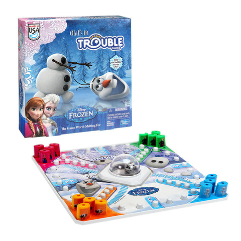 Disney Frozen 'Trouble' Olaf's in Trouble Pop-O-Matic Board Game