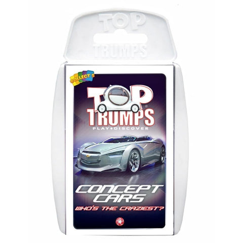 Top Trumps Concept Cars Card Game