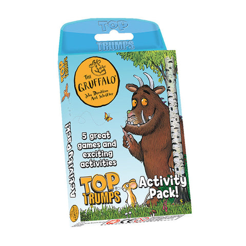 Top Trumps Gruffalo Activity Pack Card Game