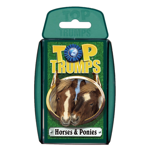 Top Trumps Horses & Ponies Card Game
