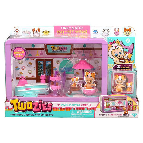 Twozies Series 1 Two Playful Cafe Playset