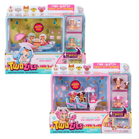 Twozies Series 1 Twogether Fun Playset Assorted