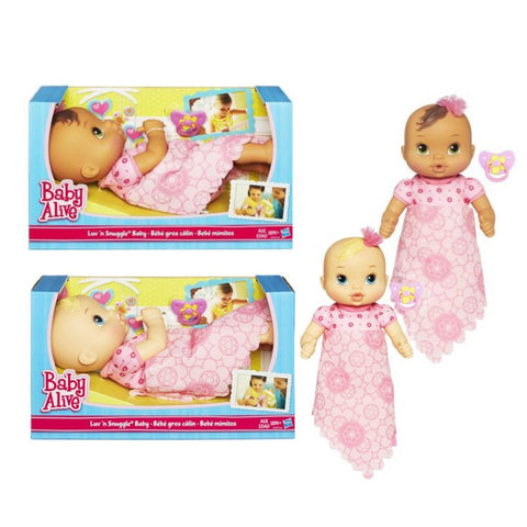 Baby Alive Luv N Snuggle Baby Doll Assorted