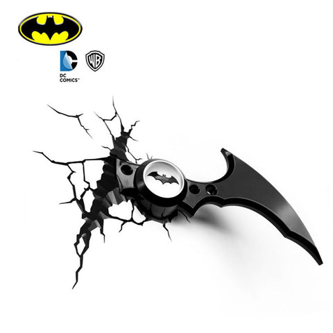 DC Batman Batarang 3D FX Night Light