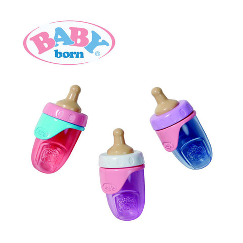 Baby Born Bottle Assorted with 2 Lids