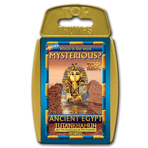 Top Trumps Ancient Egypt Card Game