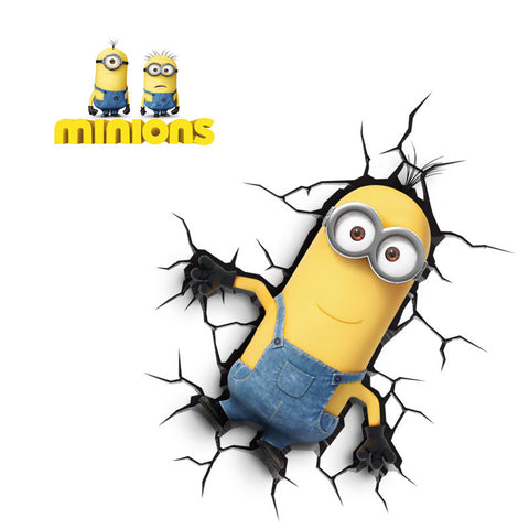 Minions Despicable Me Minion Kevin 3D FX Night Light