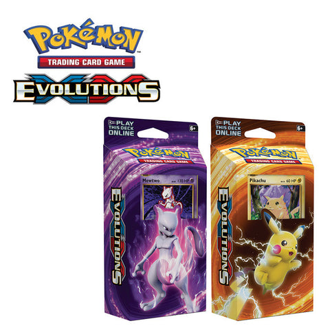 Pokemon TCG XY Evolutions Theme Deck Pack Assorted