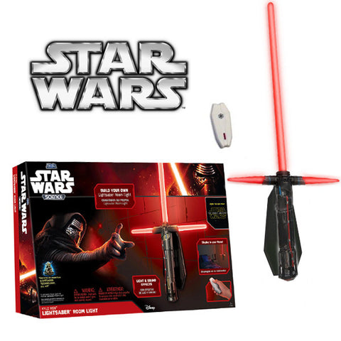 Star Wars VII Force Awakens Kylo Ren Lightsaber Wall Night Light with Remote Control