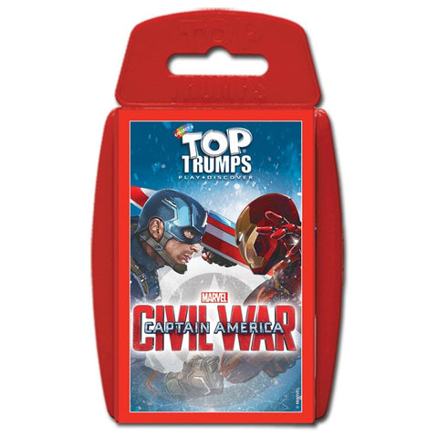 Top Trumps Captain America Civil War Card Game