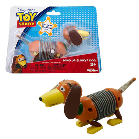 Disney Pixar Toy Story Wind-Up Slinky Dog Figure