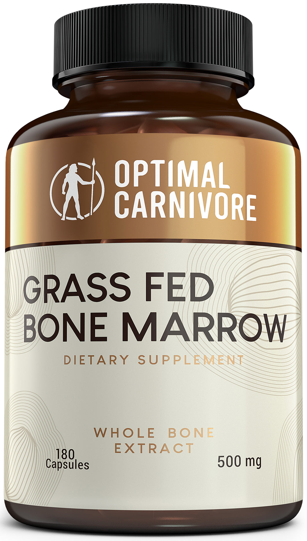 Grass Fed Bone Marrow Supplement - Ancestral Superfood, Bone Marrow, Cartilage & Collagen Capsules - More Nutrients Than Bone Broth by Optimal Carnivore