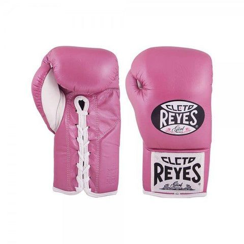 Cleto Reyes Official Fight Gloves - Pink
