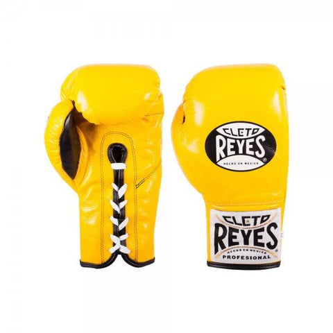 Cleto Reyes Safetec Pro Gloves - Yellow