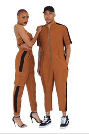 HIS And HERS boiler suit