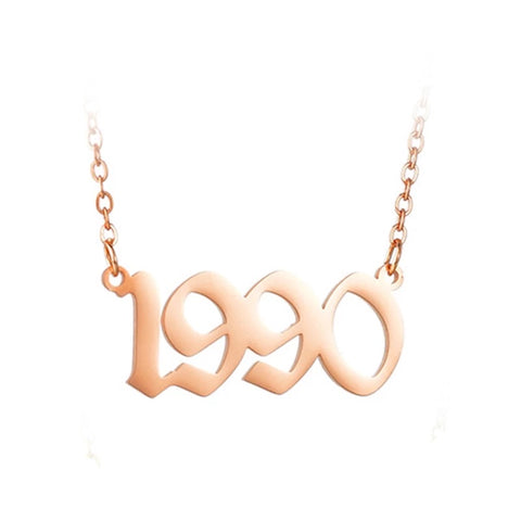 90's Baby Gold anklet (1990-1999')
