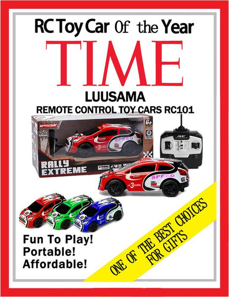 "The COOL Car Shell Luusama RC101/RC102/RC103 Remote Control Car Toy RC Cars - AA Battery - 6""x2.5""x2"" (Scale 1:28/AA Battery)"