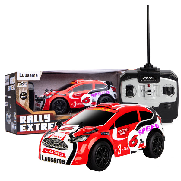 "Wireless Remote Control Car RC Toy Cars RC101 (Scale 1:28/AA Battery)  For Boys For Kids 6""x 2.5""x 2"" By Wiki-Electronics & Luusama"