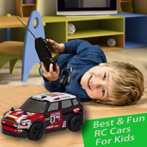 "Fun & Tiny Luusama RC101/RC102/RC103 Remote Control Car Toy RC Cars - AA Battery -RC101 6""x2.5""x2"""