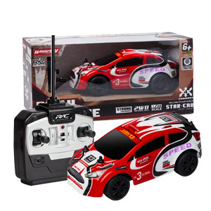 Operation is very simple Remote Control Car Model Electric Vehicle RC Racing Toy Hobby Cars For Boy Gift For Kids (Scale 1:28/AA Battery) RC101/RC102/RC103   By Wiki Electronics & Luusama