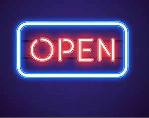 "OPEN Business Reastaurant Beer Bar Pizza Home Decoration Neon Light Sign 12"" x 7"" x 3"" (Voltage 100-240v) - FREE Shipping Worldwide"