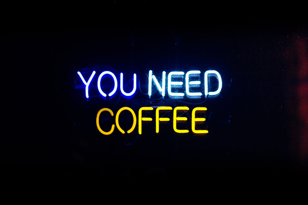 YOU NEED COFFEE  Home Decoration Beer Bar Neon Light Sign 16