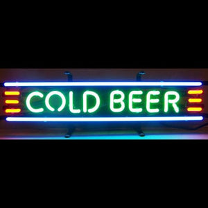 "COOL BEER  Home Decoration Beer Bar Neon Light Sign 16"" x 6"" x 3"" (100-240v) Free Shipping Worldwide"