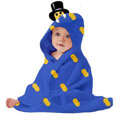 Official Planters Baby Nut Hooded Baby Blanket
