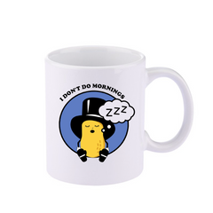 Official Planters I Don't Do Mornings Baby Nut Mug