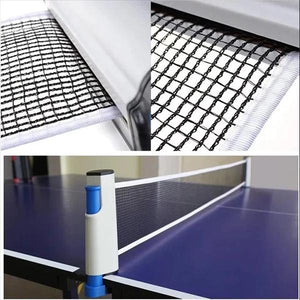 【LAST DAY PROMOTION, 50% OFF】RETRACTABLE TABLE TENNIS NET🏓 - worthbuyonline