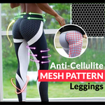 Load image into Gallery viewer, ❤️LAST DAY 50% OFF❤️Anti-Cellulite Mesh Pattern Leggings - A Super Life