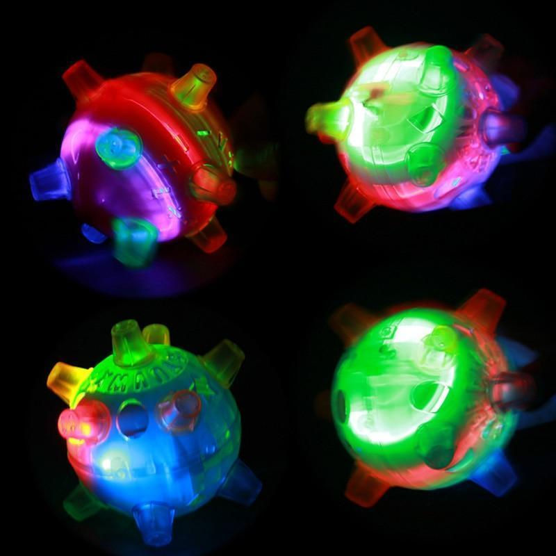 Pet LED Jumping Activation Ball - A Super Life