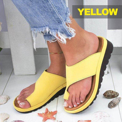 【buy 2 get extra 10% OFF+FREE SHIPPING】Woman Comfy Platform Sandal Shoes - A Super Life
