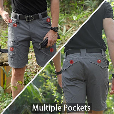 【Limited Time Offer】Military Waterproof Tactical Shorts(Buy 2 Free Shipping) - A Super Life