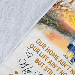 SUN SET LOVE FLEECE BLANKET