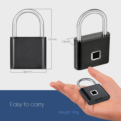 The Smart Fingerprint Padlock
