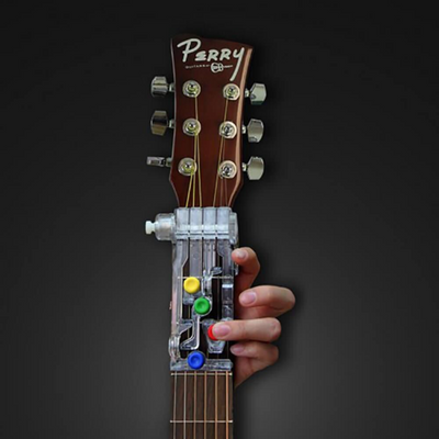 ChordBuddy Guitar Learning System & Teaching Aid Chord Buddy with True Tune Chromatic Tuner