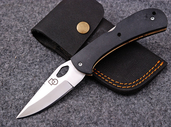 Workmen   Black folding knife