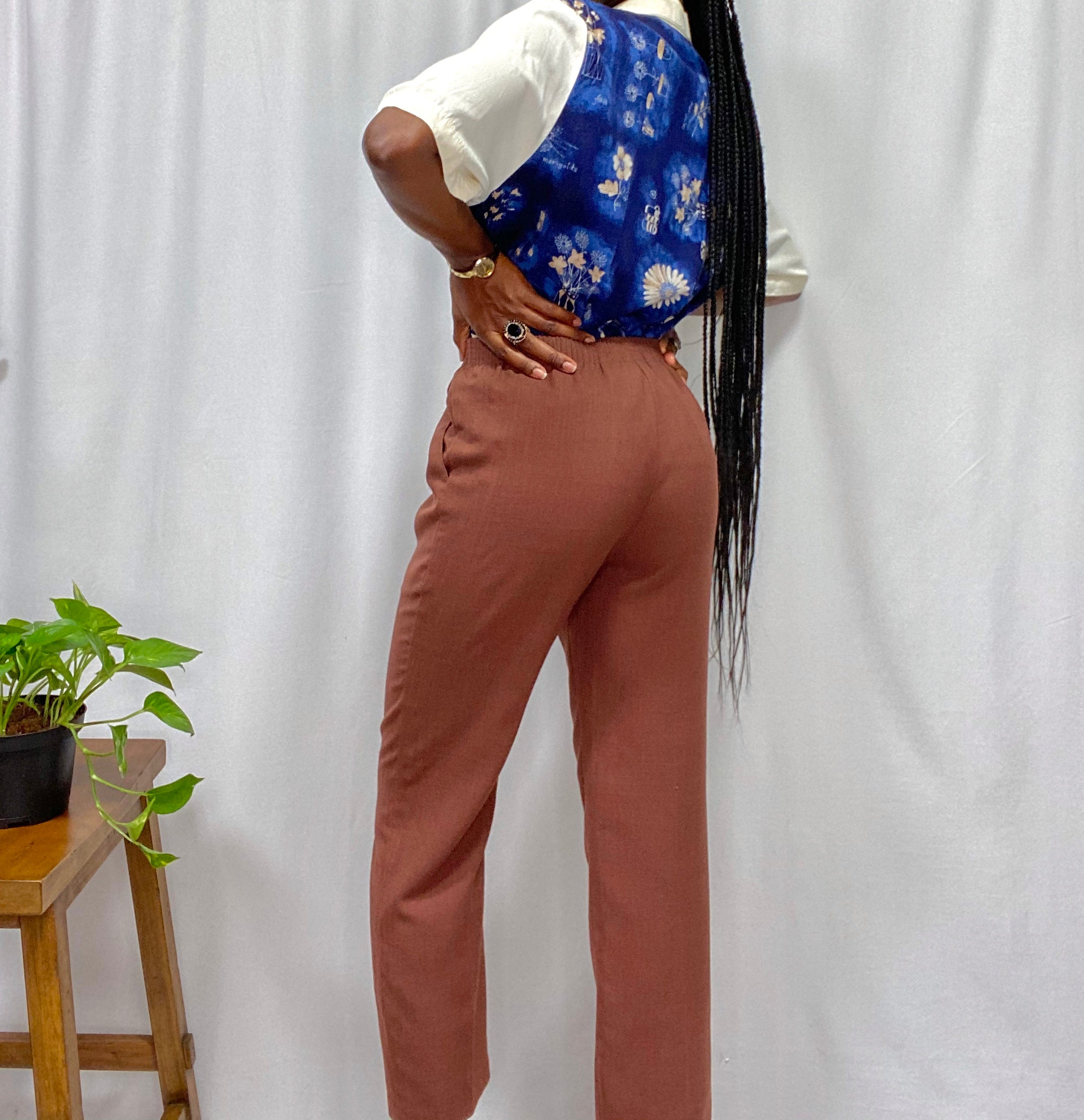 Chocolate Brown Trousers