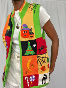 Bright Holiday Vest