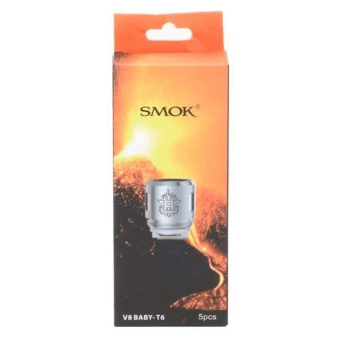 Smok TFV8 Baby T6 Coils - Pack of 5 - Accessories