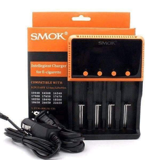 SMOK 4 Bay 18650 Battery Charger - Accessories