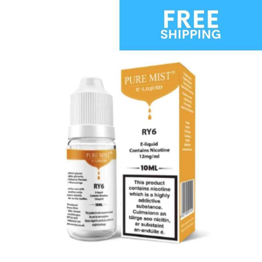 Pure Mist Tobacco RY6 - Eliquid